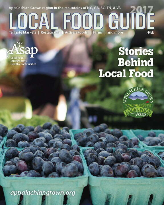 2017 Local Food Guide cover