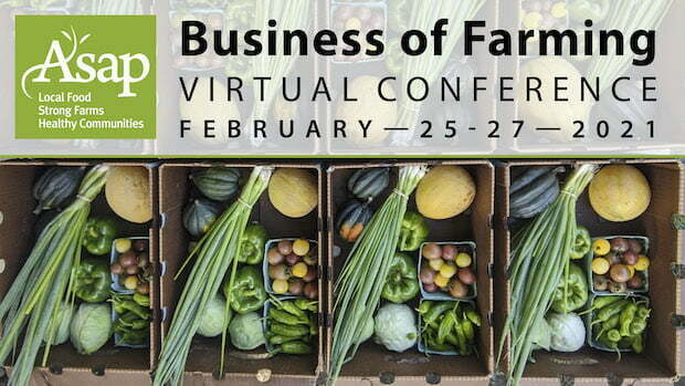 Business of Farming Virtual Conference – Feb 25-27
