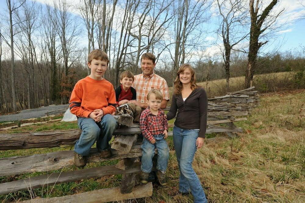 Hickory Nut Gap Farm in Fairview, North Carolina.