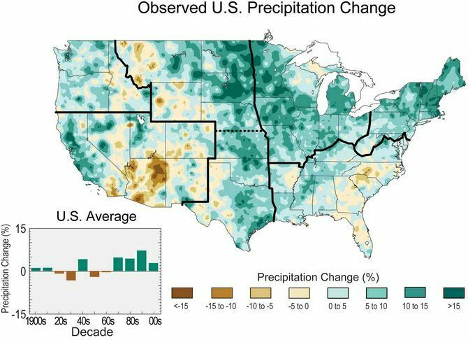 Observed US Precipitation Change