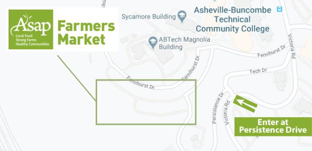 ASAP Farmers Market map