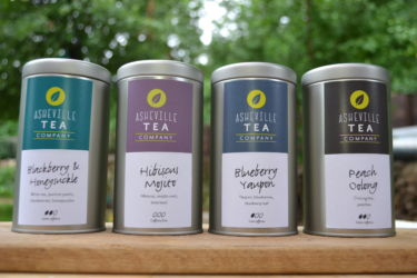 Asheville Tea Company featuring Rayburn Farm, Pangaea Plants, Serenity Knoll Farm, and Gentle Harmony Farm.