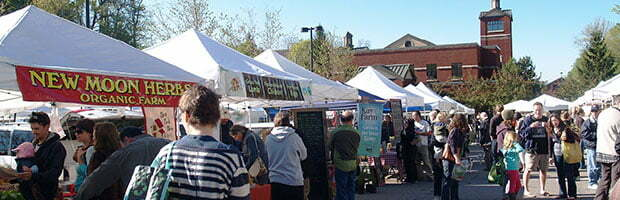 Asheville City Market vendors